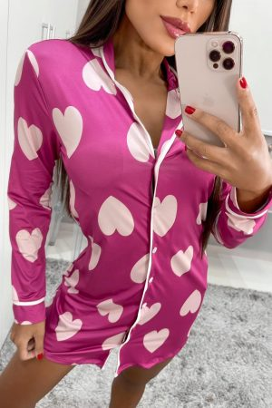 CAMISOLA HEART PINK